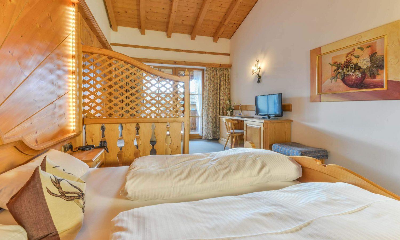 Hotel Restaurant Krüner Stubn Doppelzimmer Fernseher