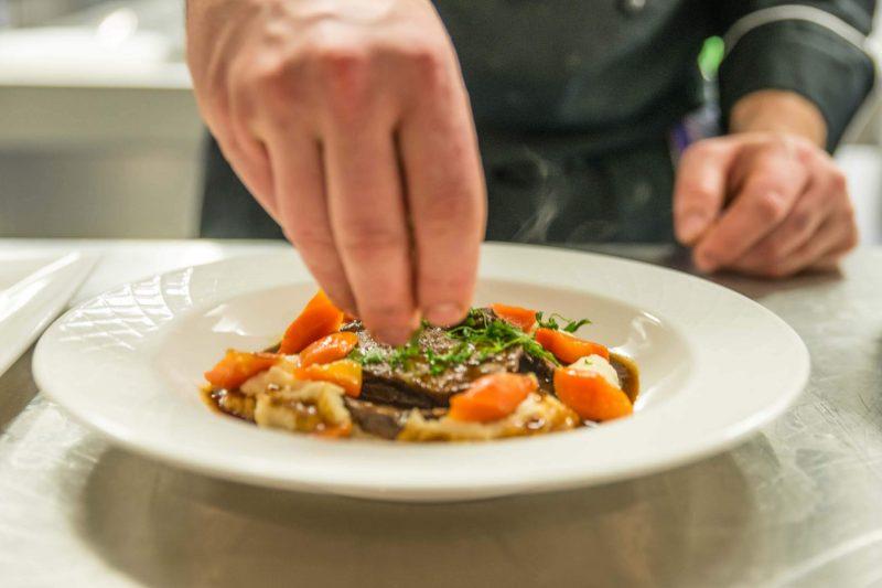Hotel Restaurant Krüner Stubn Gaststube Küche