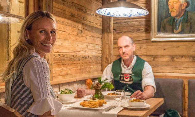 Hotel Restaurant Krüner Stubn Gaststube Menü