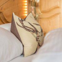 Hotel Restaurant Krüner Stubn Doppelzimmer Kissen