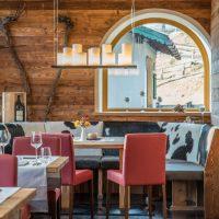 Hotel Restaurant Krüner Stubn Gaststube Sitzecke