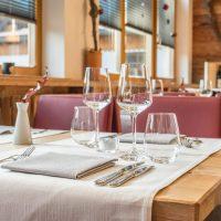 Hotel Restaurant Krüner Stubn Tischdekoration